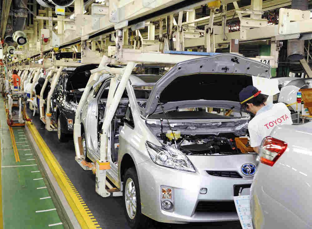 Toyota's electronics and brake