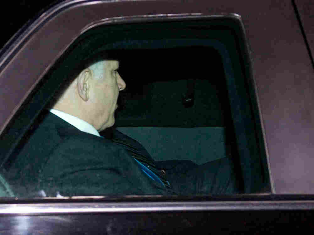 Israeli Prime Minister Benjamin Netanyahu departs the White House following a meeting with President