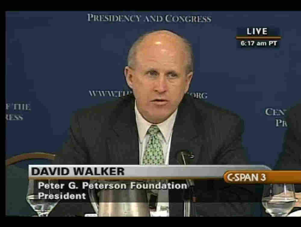 David Walker, former head of the Government Accountability Office, said the health care overhaul is
