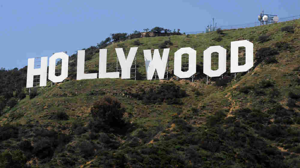 This photo taken on March 24, 2010, shows the iconic Hollywood sign in the hills above Hollywood. (M