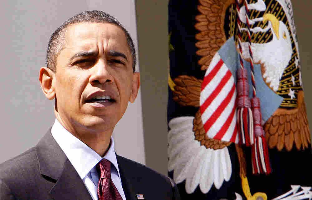 President Barack Obama praised Justice John Paul Stevens who announced his imminent retirement from