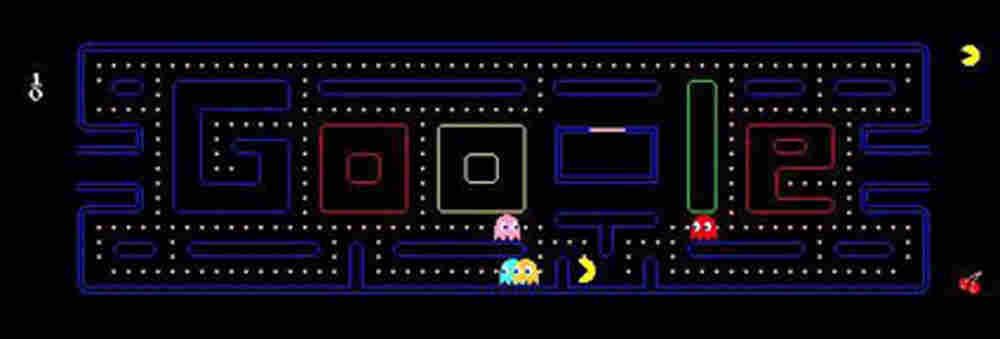 Pac-Man on Google.