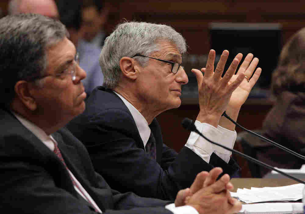 Former Citigroup officials said they regretted not foreseeing the the perfect storm of factors that