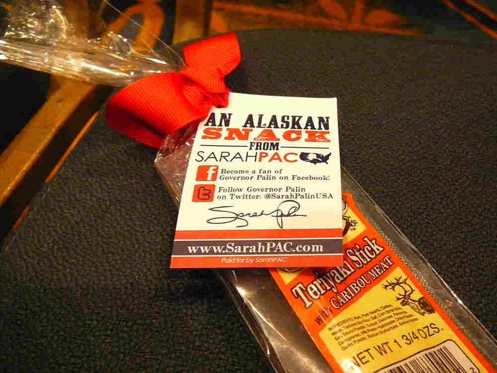 A gift for those at the Southern Republican Leadership Conference in New Orleans, April 9, 2010. Fro