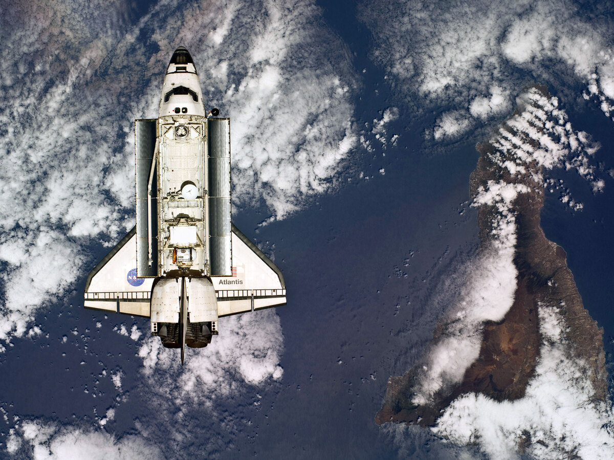 Space Shuttle Atlantis Lands At Kennedy Space Center  The ...
