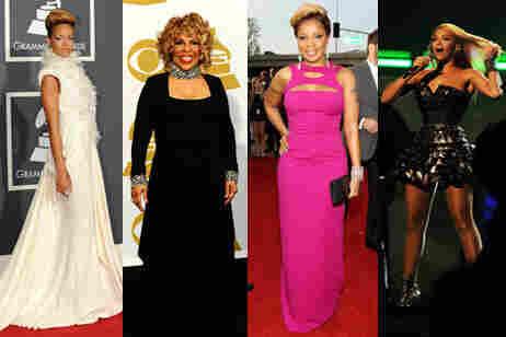 Stars go blond at the Grammy's