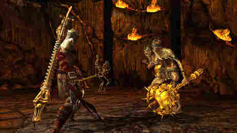 Screenshot of the Dante's Inferno video game.