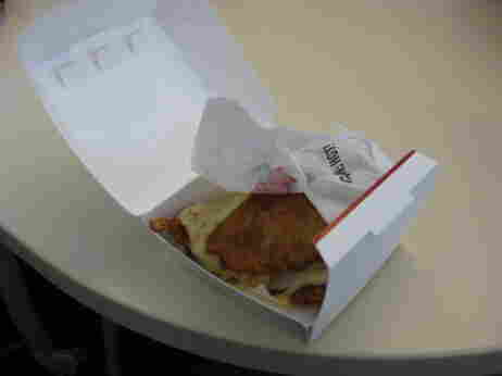 The new KFC sandwich.
