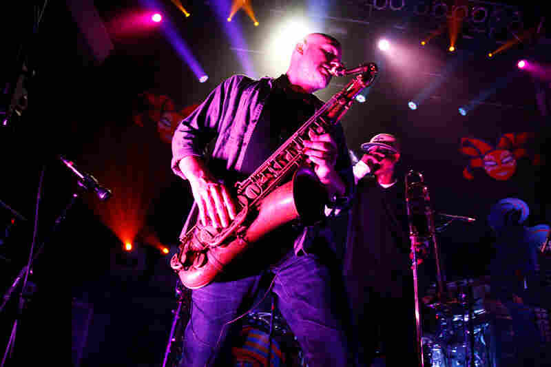 Galactic performs at the 9:30 Club in Washington, D.C. on Feb. 23, 2012.