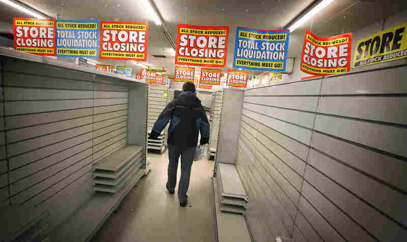 A branch of a Woolworths store in Loughton, England, is closed permanently. The British retail institution recently shut its doors after a century of business.