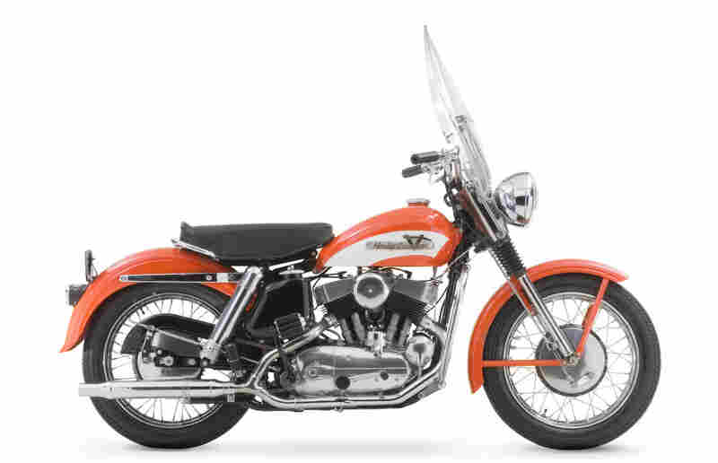 The museum has more than 400 motorcycles in its collection, including Elvis Presley's 1956 KH Model. Elvis purchased his first Model KH from a Memphis dealer for $903.