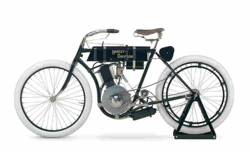 """Milwaukee's Harley-Davidson Museum celebrated """"hog heaven"""" when it opened in July 2008. Its collection includes the 1903 Serial Number One, the oldest known Harley-Davidson motorcycle."""