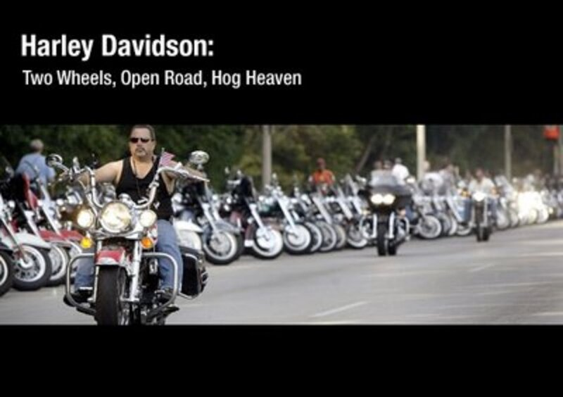 A History Of Harleys : The Picture Show : NPR