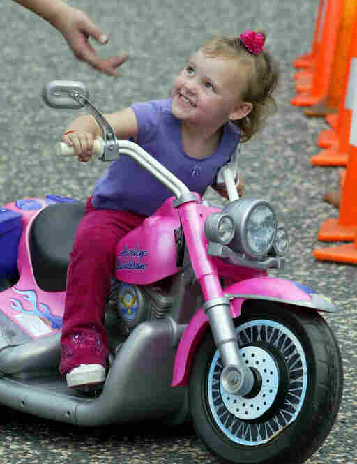 Though once associated with the Hell's Angels and other rough types, Harleys now have widespread appeal.