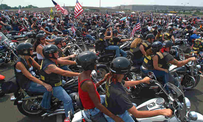 Each Memorial Day weekend, thousands of bikers rally at the National Mall in Washington, D.C., to show support for the U.S. Armed Forces and veterans.