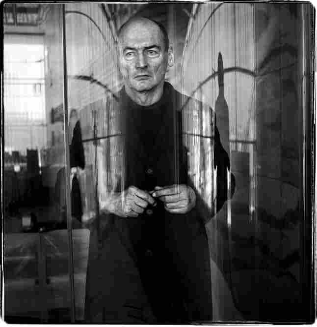 While many of Pyke's portraits are close-ups, this 2005 image of architect Rem Koolhaas reveals an interest in providing context.