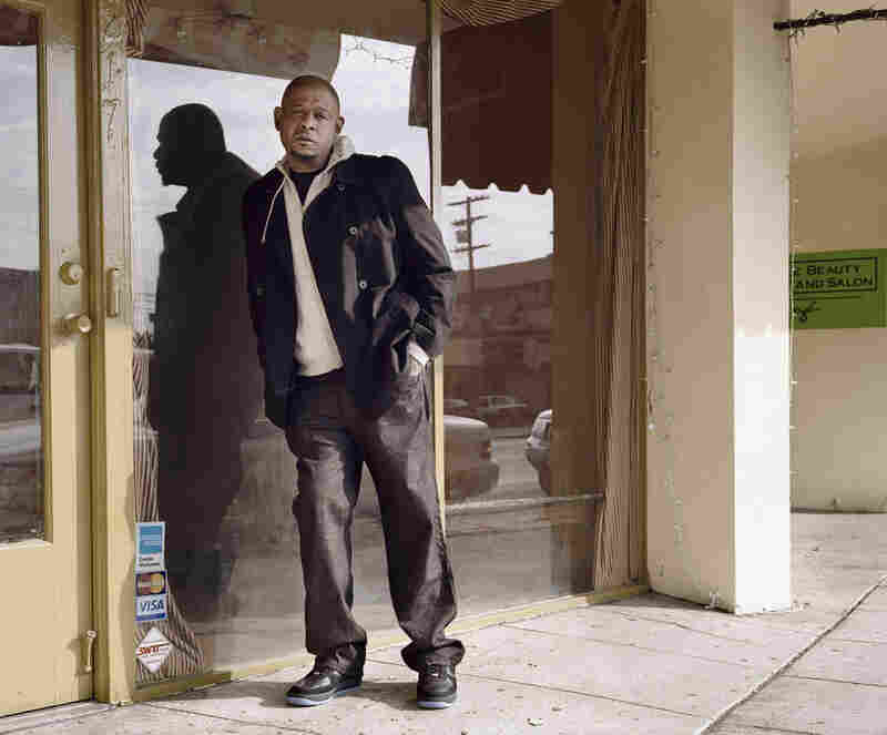 "Grannan views photography as ""a kind of permission; it's a way in. It's a catalyst for extraordinary experiences that would otherwise not be possible."" A variant of this portrait of Forest Whitaker appeared in The New York Times Magazine in 2007."