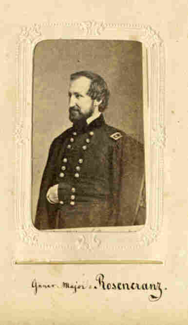 William Starke Rosecrans was a Union Army general.