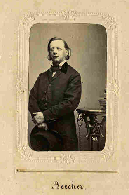 Congregationalist clergyman Henry Ward Beecher made his name as an abolitionist.