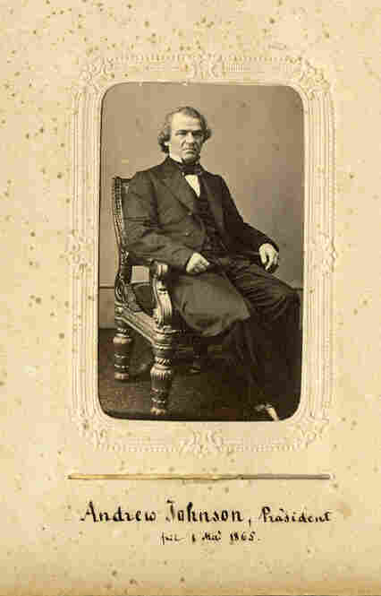 Vice President Andrew Johnson succeeded Lincoln, becoming the nation's 17th president.