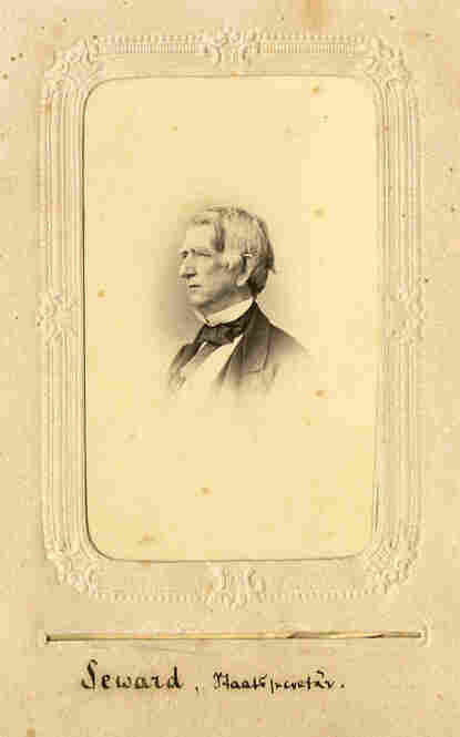 William H. Seward served as United States Secretary of State under Abraham Lincoln and Andrew Johnson.