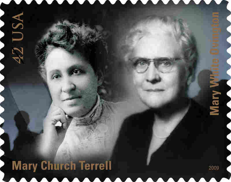 Among the other founding members were Mary Church Terrell, a writer and activist, and Mary White Ovington, a suffragist, socialist and Unitarian, pictured here on a commemorative stamp.
