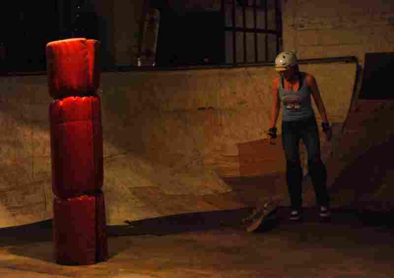 Stephanie Murdoch at Fight Club.
