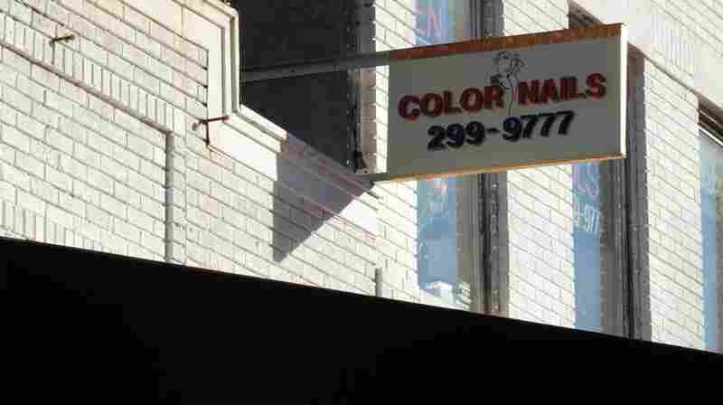 Color Nails, on 17th and R.