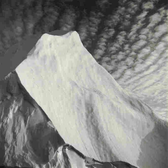 """Iceberg #4, Disko Bay, Greenland,"" 1988, gelatin silver print."