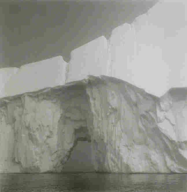 """Iceberg #13, Disko Bay, Greenland,"" 1988, gelatin silver print."