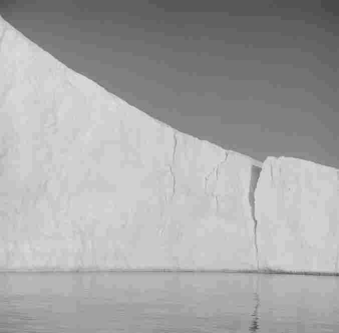 """Iceberg XIV, Disko Bay, Greenland,"" 2007."