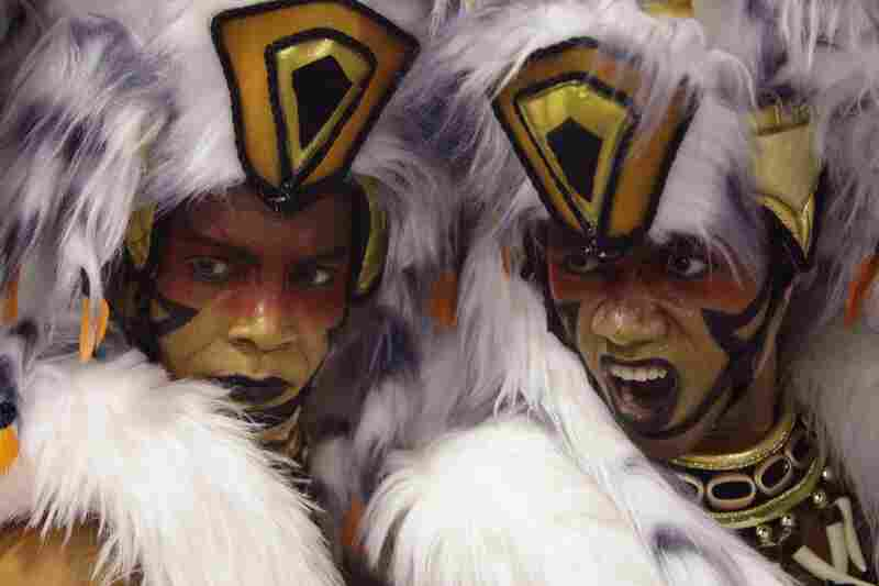 Brazil's annual carnaval in Rio de Janeiro is among the world's most famous. Dancers from the Salgueiro samba school join the celebration.