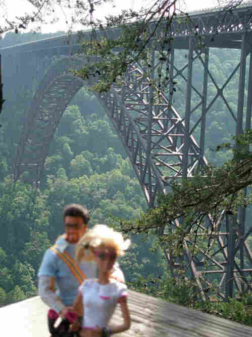 """New River Gorge bridge"" uploaded by spankyandminxy/Flickr"