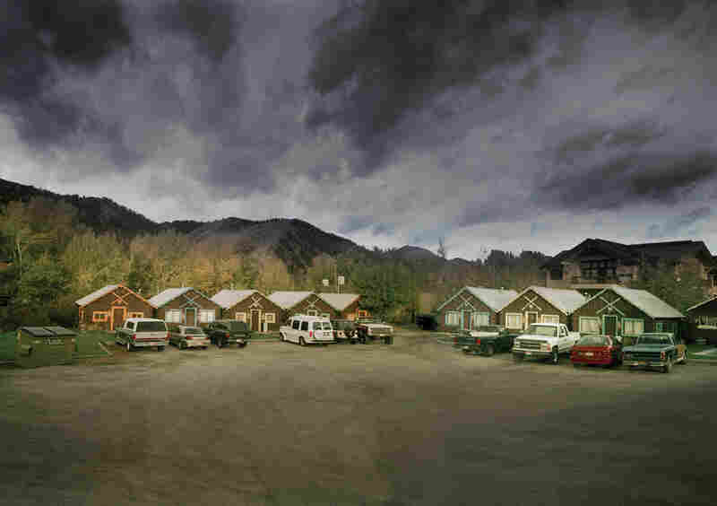 Cabin Motels (Now Demolished), Ketchum, Idaho