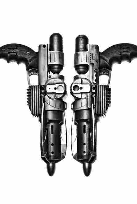 Rorschach's Grappling Guns