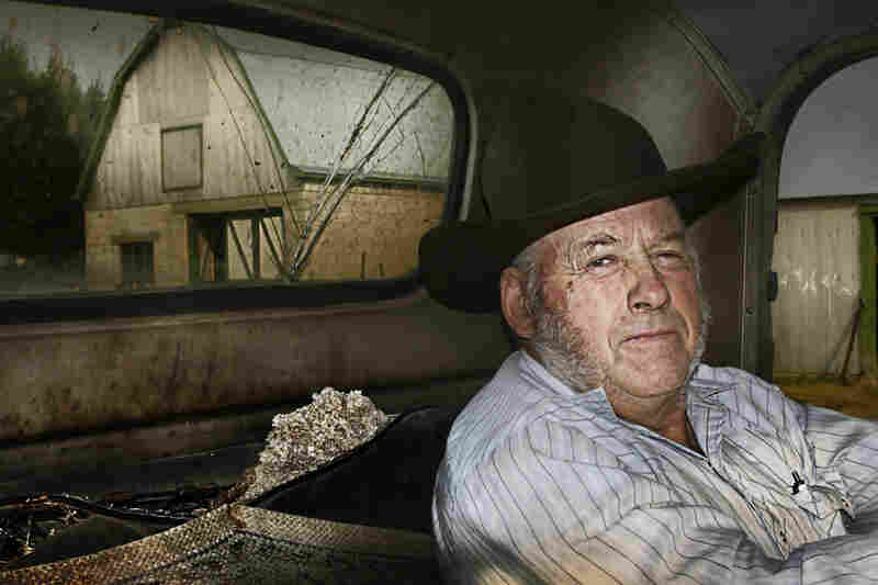 """Jules Marchesseault raises cattle in Dillon, Mont. """"It's been a struggle,"""" he says. """"We came from the basement up."""""""