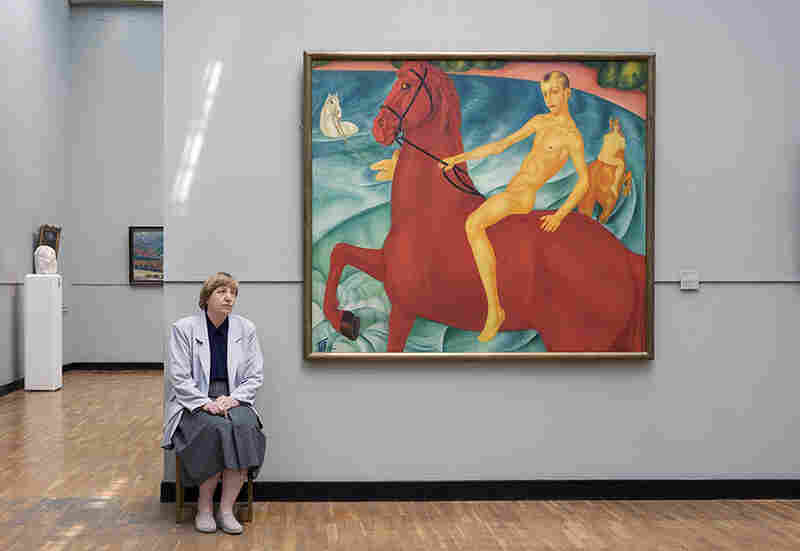 Kuzma Petrov-Vodkin's Bathing of a Red Horse, State Tretyakov Gallery