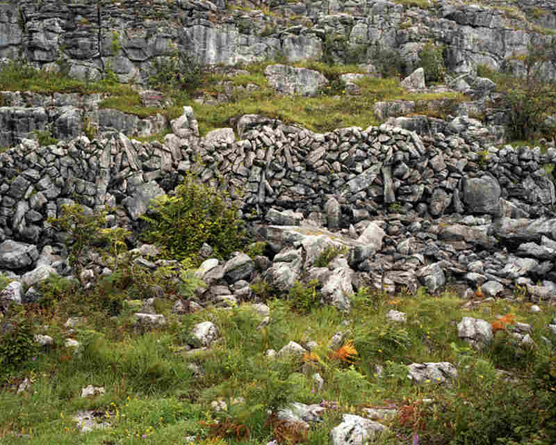 Stone Wall on Cappanawalla