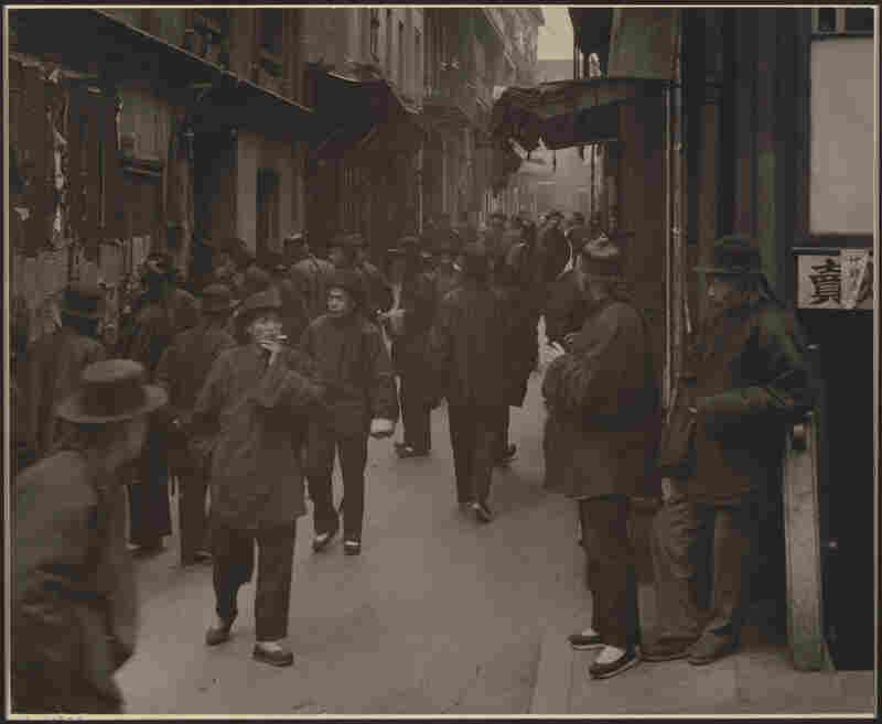 The Street of the Gamblers, circa 1896-1906Arnold Genthe was a Prussian-born photographer, 1869-1942, most noted for his images of San Francisco's Chinatown.
