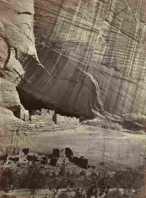 Ancient Ruins in the Canyon de Chelle, 1873Ireland-born Timothy O'Sullivan, 1840-1882, was known most for his photography of the American Civil War and the American West.  The latter years of his life were spent as official photographer for the U.S. Geological Survey. He was one of the first to photograph Indians of the Sou...