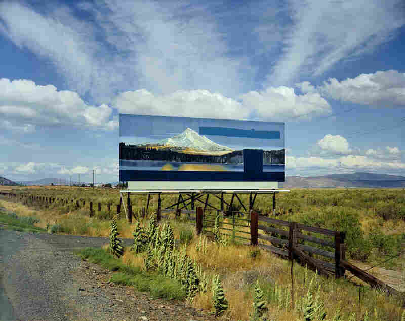 U.S. 97, South of Klamath Falls, Oregon, July 21, 1973Stephen Shore, American born in 1947, is known for his pioneering work in the medium of color photography.  Motel rooms, gas stations, plates of breakfast and stretches of highway characterize his portfolio of lurid Americana.   2009 Stephen Shore)