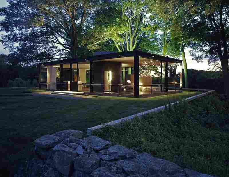 The Philip Johnson Glass House, New Canaan, Conn.