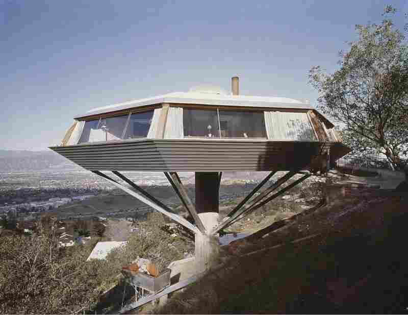 "Malin House ""Chemosphere"", Los Angeles, 1961."