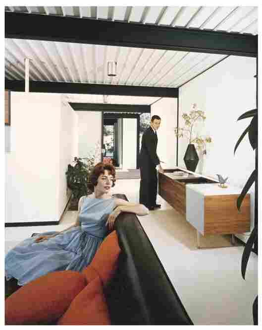 Case House Study No. 21, Los Angeles, 1958.