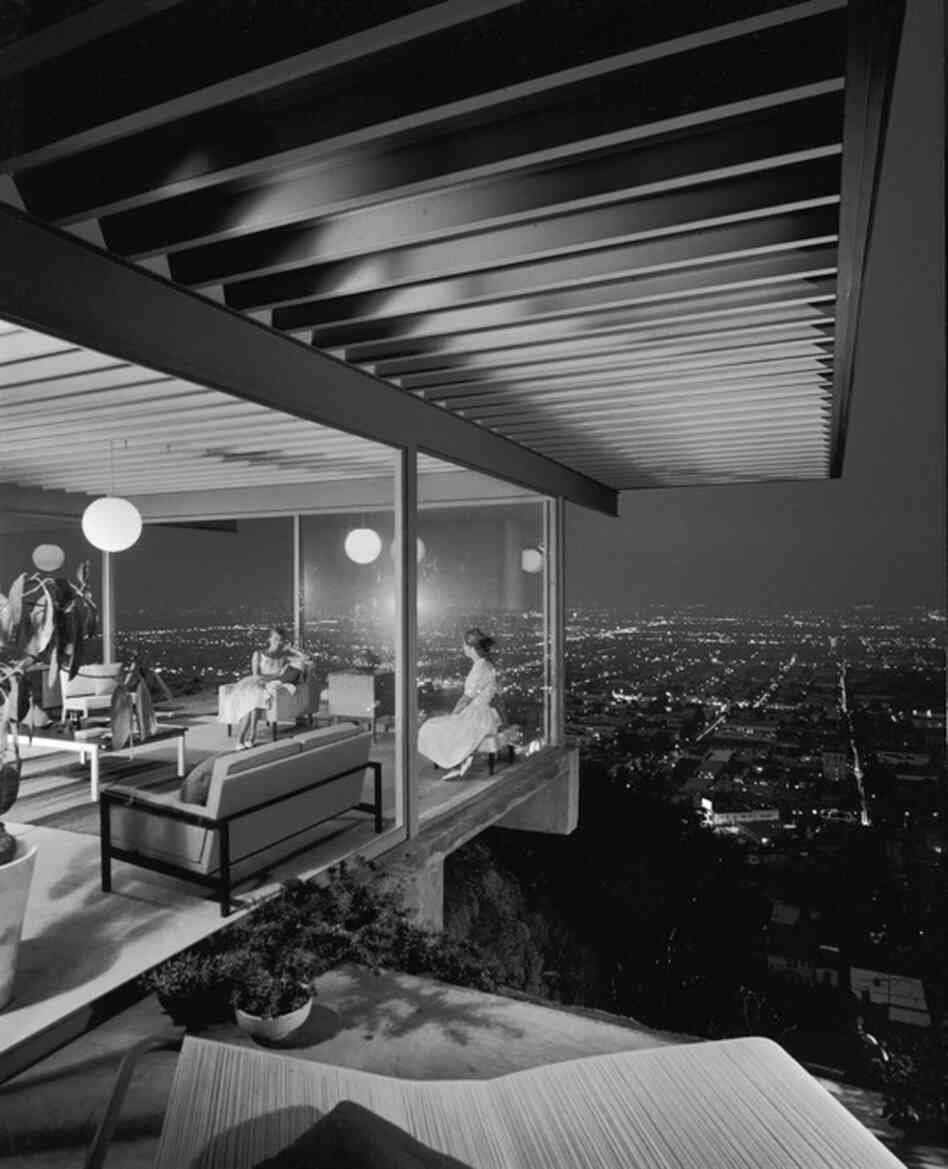 Case Study House No. 22, Los Angeles, 1960.