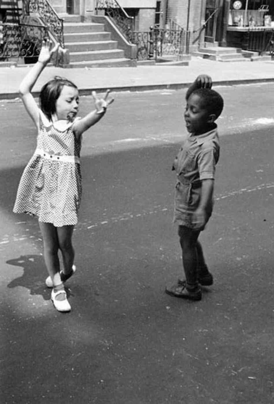 Kids dancing, New York, circa 1940