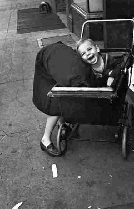 Baby carriage, New York, circa 1940