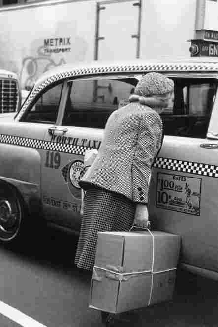 Checker cab, New York, 1982