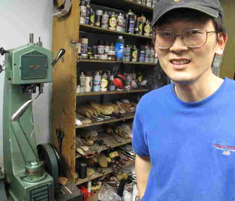 "Robert Kim says he likes D&D Shoe Repair better than the Kims' old store on Capitol Hill. There's more room, he says, and better equipment. But he does miss one thing: ""I don't see famous people any more."" He says Senators Chris Dodd of Connecticut and Carl Levin of Michigan were among his steady customers."