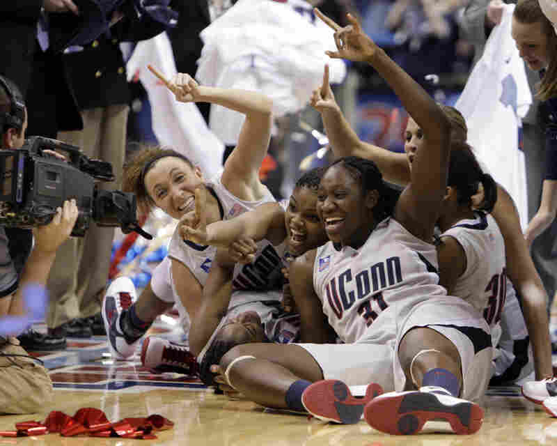 It was an impressive season nationwide for women's basketball. Columnist Christine Brennan attributes this in part to an increasing interest in basketball among young girls.  Players like Tina Charles embody the strides that women have made in athletics over the past few decades.
